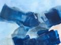 Aarde Lucht Water acryl op doek 90 x 130 cm