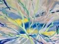 Voorjaar acryl op doek 80 x 120 cm