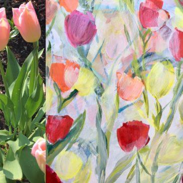 Kijken + Zien = Tulpenvreugde