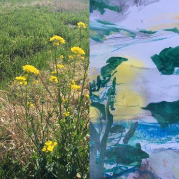 Kijken + Zien = Onstuimig geel