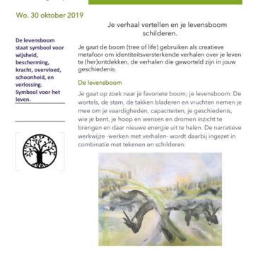 Workshop natuur & verhaal & schilderen